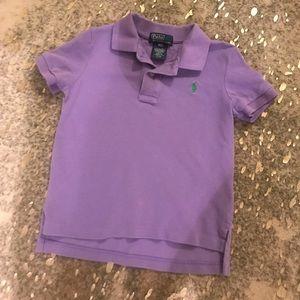 Kids Sz 3T Purple Polo